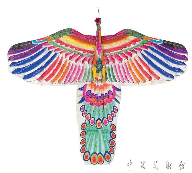 孔雀风筝图片步骤