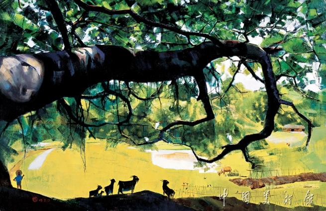 站在高处看风景——王昌楷油画作品展