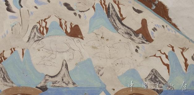 [转载]敦煌壁画欣赏及国宝级罗汉图(三十七幅)图片