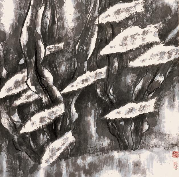 <h2 />《北海》</h2><p>作者:庄寿红</p><p>创作年代:1992</p><p>规格:68cm×70cm</p><p>品类:纸本设色</p>