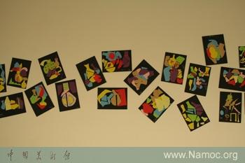 大班美术区墙面剪纸步骤