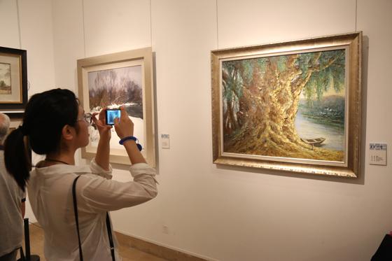 """""""2013油画风景邀请展""""感受自然之声"""