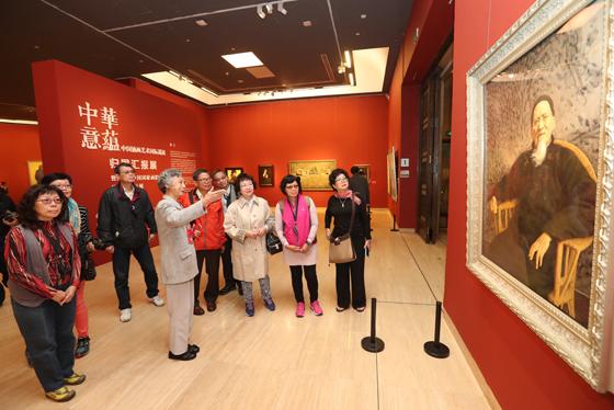 中国美术馆迎来台湾美术馆志愿者代表团到馆交流