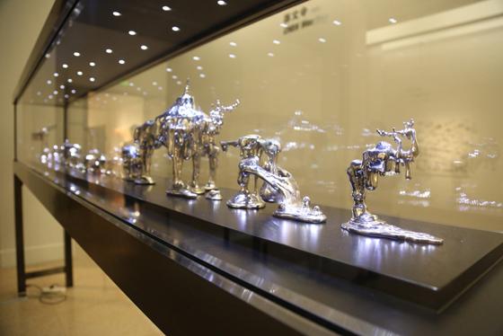 中国美术馆展览现场